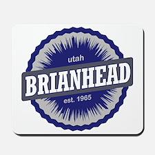 Brian Head Ski Resort Utah Blue Mousepad