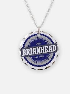 Brian Head Ski Resort Utah B Necklace