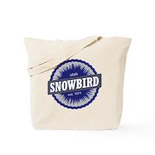 Snowbird Ski Resort Utah Blue Tote Bag