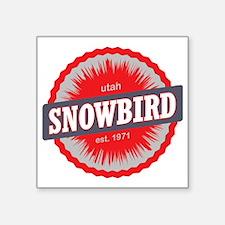 "Snowbird Ski Resort Utah Re Square Sticker 3"" x 3"""