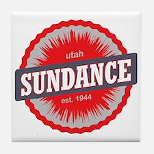 Sundance Ski Resort Utah Red Tile Coaster