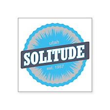 """Solitude Ski Resort Utah Sk Square Sticker 3"""" x 3"""""""
