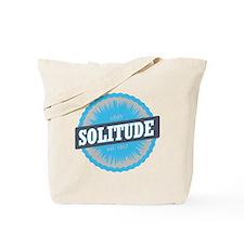 Solitude Ski Resort Utah Sky Blue Tote Bag