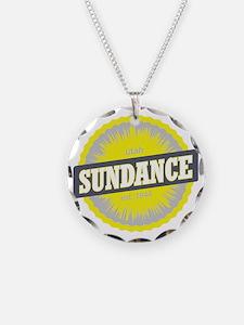 Sundance Ski Resort Utah Yel Necklace