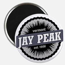 Jay Peak Ski Resort Vermont Black Magnet