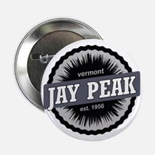 "Jay Peak Ski Resort Vermont Black 2.25"" Button"