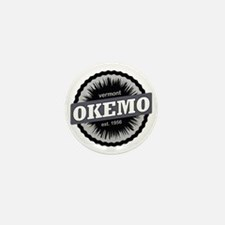 Okemo Mountain Ski Resort Vermont Blac Mini Button