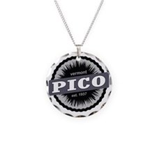 Pico Mountain Ski Resort Ver Necklace