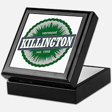 Killington Ski Resort Vermont Dark Gr Keepsake Box