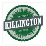 Killington vermont Square Car Magnets