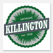 "Killington Ski Resort Ve Square Car Magnet 3"" x 3"""