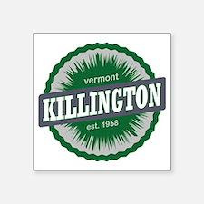 "Killington Ski Resort Vermo Square Sticker 3"" x 3"""