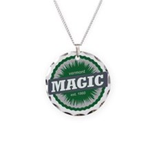 Magic Mountain Ski Resort Ve Necklace