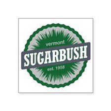 "Sugarbush Resort Ski Resort Square Sticker 3"" x 3"""