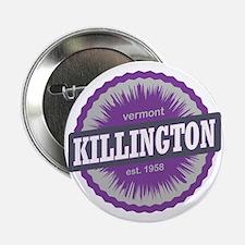 """Killington Ski Resort Vermont Purple 2.25"""" Button"""