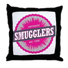 Smugglers Notch Ski Resort Vermont Pi Throw Pillow