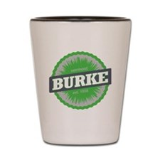 Burke Mountain Ski Resort Vermont Lime  Shot Glass