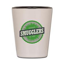 Smugglers Notch Ski Resort Vermont Lime Shot Glass