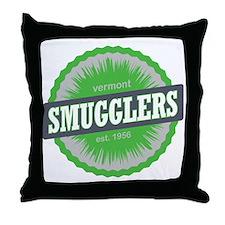 Smugglers Notch Ski Resort Vermont Li Throw Pillow