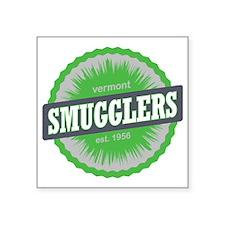 "Smugglers Notch Ski Resort  Square Sticker 3"" x 3"""