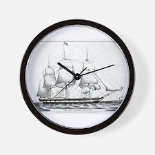 The gem of the Atlantic - 1849 Wall Clock