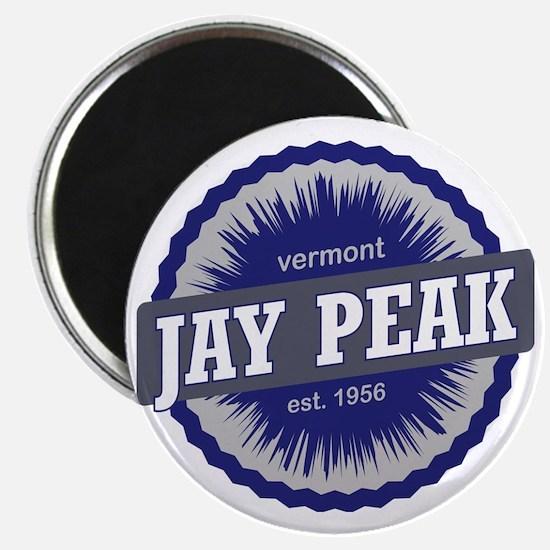 Jay Peak Ski Resort Vermont Navy Blue Magnet