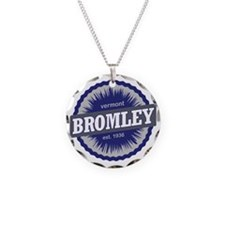 Bromley Mountain Ski Resort  Necklace
