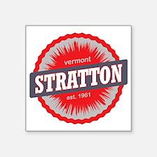 """Stratton Mountain Ski Resor Square Sticker 3"""" x 3"""""""