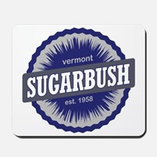 Sugarbush Resort Ski Resort Vermont Navy Mousepad