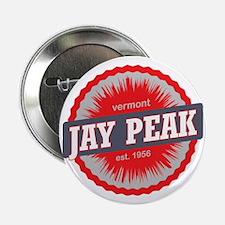 """Jay Peak Ski Resort Vermont Red 2.25"""" Button"""
