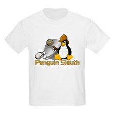 Penguin Sleuth Kids T-Shirt