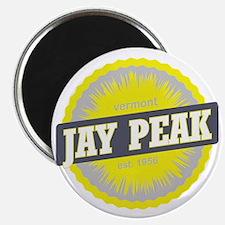 Jay Peak Ski Resort Vermont Yellow Magnet