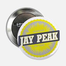 "Jay Peak Ski Resort Vermont Yellow 2.25"" Button"