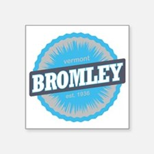 "Bromley Mountain Ski Resort Square Sticker 3"" x 3"""