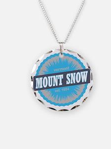 Mount Snow Ski Resort Vermon Necklace