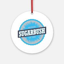 Sugarbush Resort Ski Resort Vermont Round Ornament