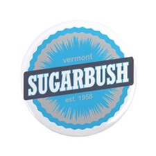 "Sugarbush Resort Ski Resort Vermont Sk 3.5"" Button"