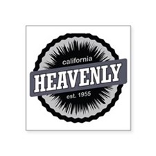 "Heavenly Mountain Resort Sk Square Sticker 3"" x 3"""
