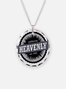 Heavenly Mountain Resort Ski Necklace