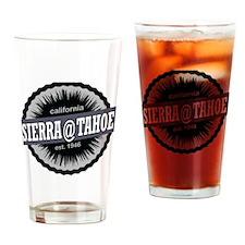 Sierra-at-Tahoe Ski Resort Californ Drinking Glass