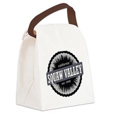 Squaw Valley Ski Resort Californi Canvas Lunch Bag