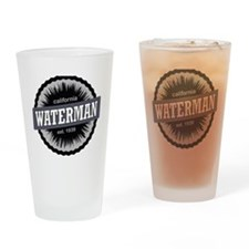Mount Waterman Ski Area Ski Resort  Drinking Glass