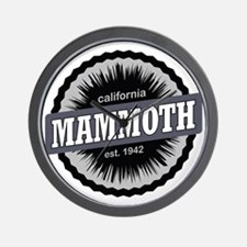 Mammoth Mountain Ski Resort California  Wall Clock