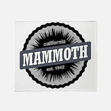 Mammoth Mountain Ski Resort Californ Throw Blanket