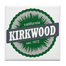 Kirkwood Mountain Resort Ski Resort C Tile Coaster