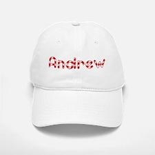 Andrew - Candy Cane Baseball Baseball Cap
