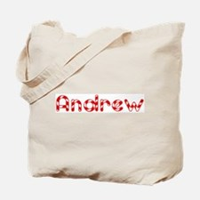 Andrew - Candy Cane Tote Bag