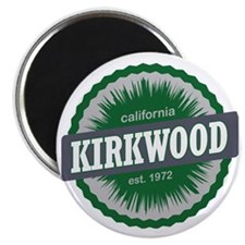 Kirkwood Mountain Resort Ski Resort Califor Magnet