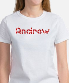 Andrew - Candy Cane Women's T-Shirt