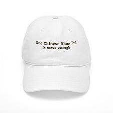 One Chinese Shar Pei Baseball Cap